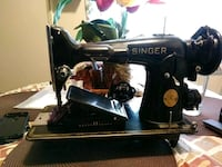An old sewing machine singer