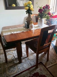 Dining table with 4 chairs  Irving