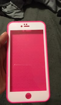 white and pink iPhone case Richmond, 23224