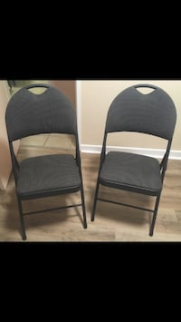 Two Folding padded Chairs. Brand New!  $10 each or both for $15