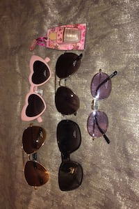 4 BN ARDENE SUNGLASSES AND BN LIPGLOSS