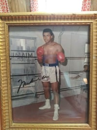 Muhammad Ali signed boxing picture Worcester, 01609