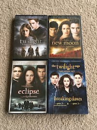 The Twilight Saga: Complete 5-Movie Collection (DVD) Howell, 07731