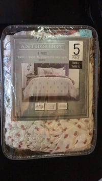 Anthology 5-Piece TWIN/TWIN XL COMPLETE BED SET Rockville, 20853