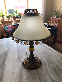 PartyLite Candle holder Lamp