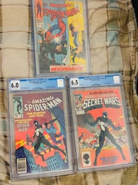 3 Graded comic books for sale!!!