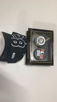 Tie Domi autographed puck and ball cap