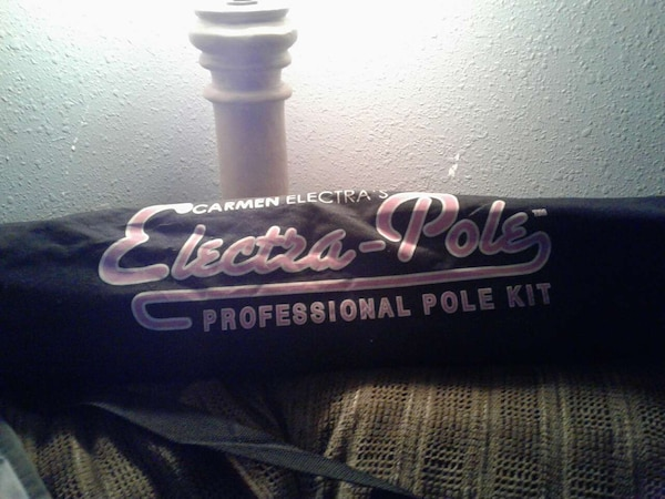 Portable Carmen Electra Stripper Pole Never Used