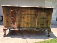 Bow-front antique French chest of drawers Fullerton, 92835