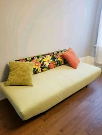 Newly reupholstered retro couch sofa daybed Toronto, M6R 2C7