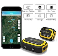 goTele GPS Tracker, No Monthly Fee No Network Required Mini Portable Off-grid Real Time GPS Tracking Device for Outdoor Hiking, Hunting, Kids and Pets Tracker (2 Pack) 兰丘库卡蒙卡, 91737