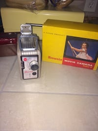 1960's brownie Movie Camera