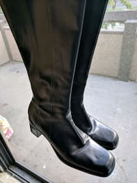 Leather boots. Worn once. Rancho Cucamonga