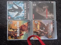 Assorted PlayStation 3 games Chicago