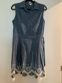Jean and lace dress size 10 Los Angeles, 90017