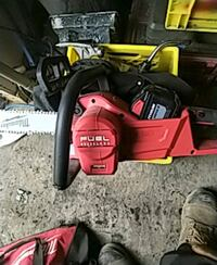 Milwaukee fuel brushless chainsaw Calgary, T2A 5E6