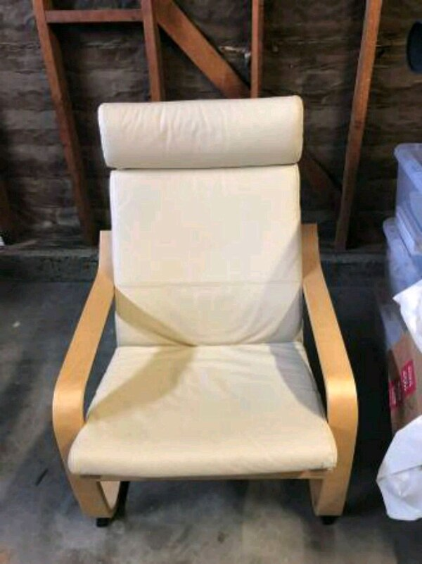 Admirable Ikea Poang White Arm Chair Bralicious Painted Fabric Chair Ideas Braliciousco