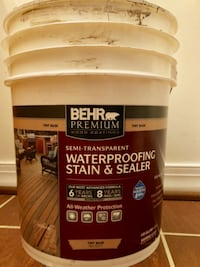 Behr Exterior Paint Stain Sealer Silver Spring