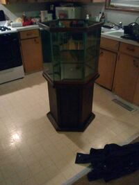 55gal hexagon fish tank with stand Hot Springs, 71901