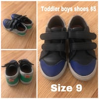 Used Toddler boys shoes size 9 Burbank