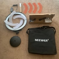 """Ring Light Neewer RL-18"""". NEW, never used (see pictures)"""