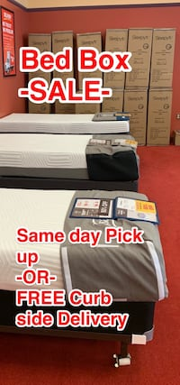 Bed -N- Box SALE - 50% off - While supplies last