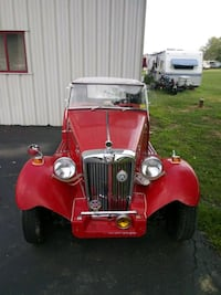 1953 MG TC Mechanicsburg