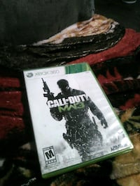 Call of Duty MW3 Xbox 360 game case