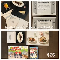 Power to Play Full Set - Physical Ed lesson plan kit  Toronto, M5G 2A3