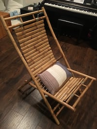 Imported handmade foldable Bamboo Chair