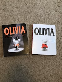 Set of 2 Olivia board books. Rutherford, 07070