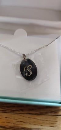 "Sterling Silver 925 ""S"" Necklace Toronto"