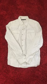 White/Black Stripe Shirt Little Rock, 72205