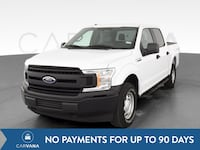 2018 Ford F150 SuperCrew Cab pickup XL Pickup 4D 5 1/2 ft White Petersburg