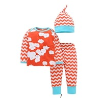 Flowery 3 piece Summer Baby Outfit  Vernon, V1T 7H5