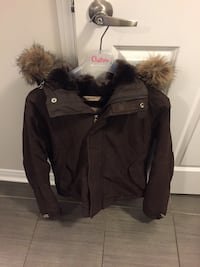 black and brown parka jacket Whitby, L1N 0J7