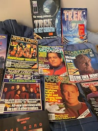 Star Trek collectible magazines Glenview, 60025