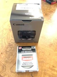 Canon 50 mm f/1.4 usm  Ef camera lens with glass filter Mississauga, L5B 0H2