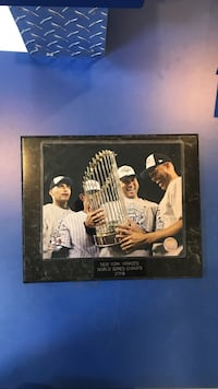 New York Yankees World Series Champs 2009 print frame Mooresville, 28117