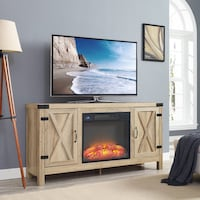 Home source brand new fireplace tv stand  null, 08873