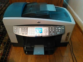 Printer Fax Copier Scanner HP OfficeJet 7410 All-in-One Color InkJet -