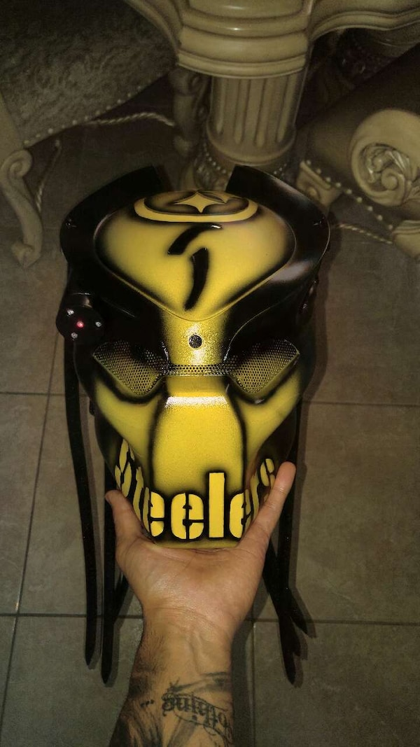 5daa56b1737 Used Pittsburgh Steelers predator mask for sale in Houston - letgo