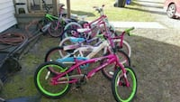 KIDS BIKES..ALL IN PERFECT CONDITION.READY TO RIDE