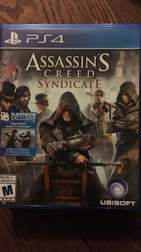 Assassin's creed syndicate ps4 game  Brampton, L7A 1N8