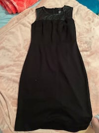 Black Ann Taylor Sleeveless Pencil Skirt Dress (Size 0) Burnaby, V5C 4S7