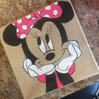 Minnie Mouse painting Sioux Falls, 57103