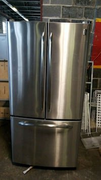 stainless steel french door refrigerator North Haven, 06473