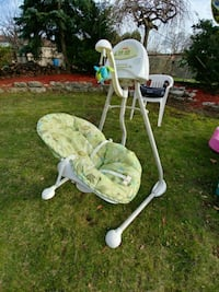 Fisher price cradle and swing - scatterbug Toronto
