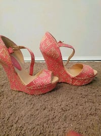 Pink wedges Chico, 95973