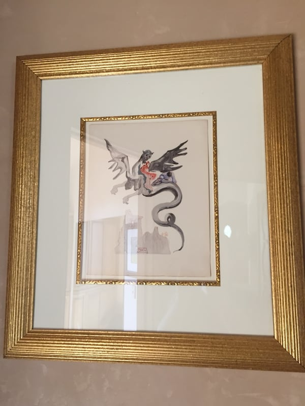 Salvador Dali Inferno 17. Comes with certificate of authenticity. d7122c69-5630-463b-99b3-a3ace7efd545